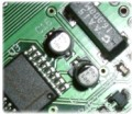 circuit board close-up
